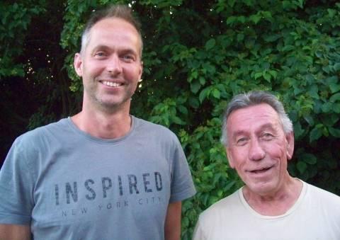 Erik Berndsen en Theo Derksen